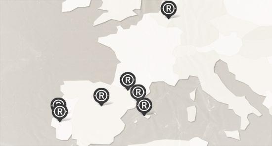 Old Ridel mapa